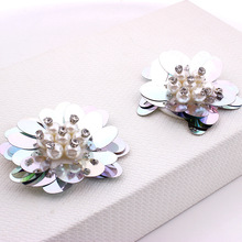 1 Pair Flower Shoe Clips Shoes Decorations Clips For Women Shoe High Heel Wedding Party Shoes Accessories DIY Manual цена 2017