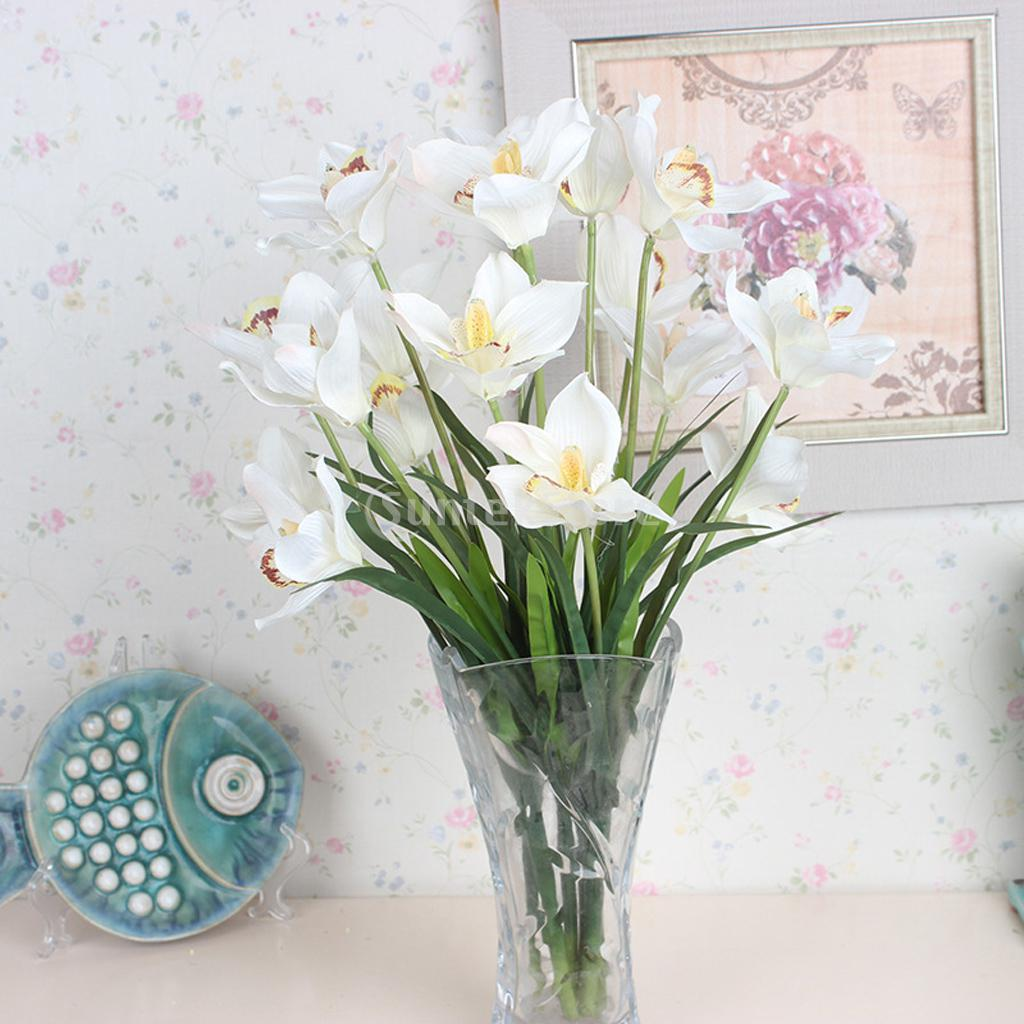 Online buy wholesale artificial orchid stems from china for Orchid decor