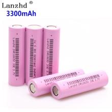 1 ~ 8 pcs 18650 3.7 V INR18650 pin Sạc lithium lý ion 3.7 V 30A lớn hiện nay 18650VTC7 18650 pin