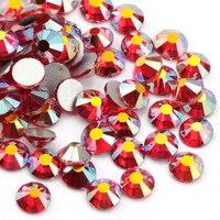 Luz QIAO Boutique Siam AB  diamantes de imitación sin fijación en caliente  cristales con parte posterior plana  diamantes de imitación de cristal con pegamento