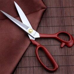 1 sztuk profesjonalne wysokiej jakości nożyczki do szycia gadżet z cięciami prosto z przewodnikiem szycia i tkaniny DIY Craft nożyczki krawieckie|Nożyce krawieckie|   -