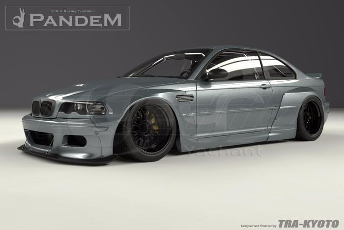 1998-2005 BMW E46 M3 Coupe GReddy Pandem Style Body Kit FRP (8)