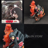 ALEN Anime Naruto Action Figure ZERO Uchiha Itachi Model Dolls Decoration Pvc Classic Collection Figurine Toys for Gifts 22cm