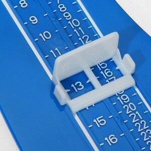 Image 2 - Regla de medición de pies para niños, medidor de pies para niños, regla de ajuste de pie para crecimiento de longitud, herramienta de medición de altura