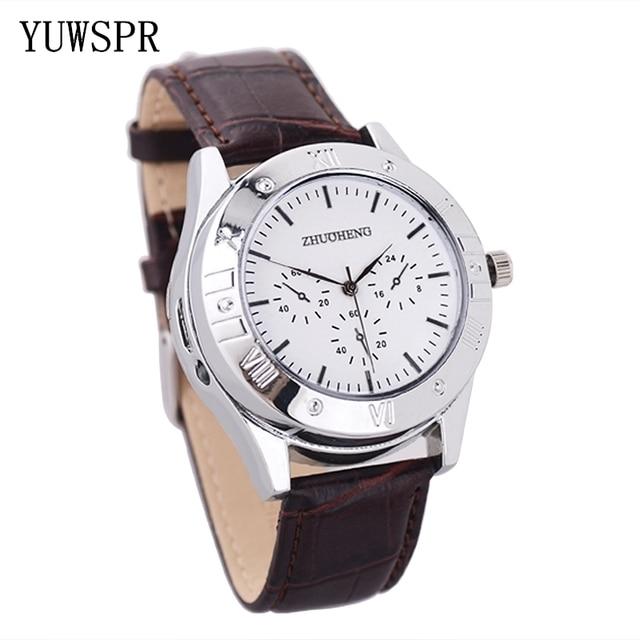 Aansteker Horloges mannen USB Opladen Quartz Horloge Militaire Vlamloze sigarettenaansteker outdoor mannelijke gift Horloges JH311