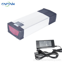 Long Cycle Electric Bicycle Battery Bike Battery 52v 20ah 20 3ah Rear Rack 14s7p Deep Cell