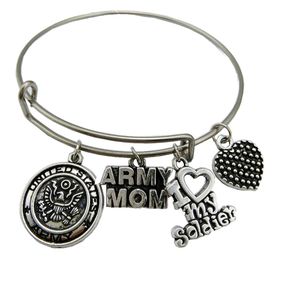 My Shape Classic Women S United States Army Mom Bracelet