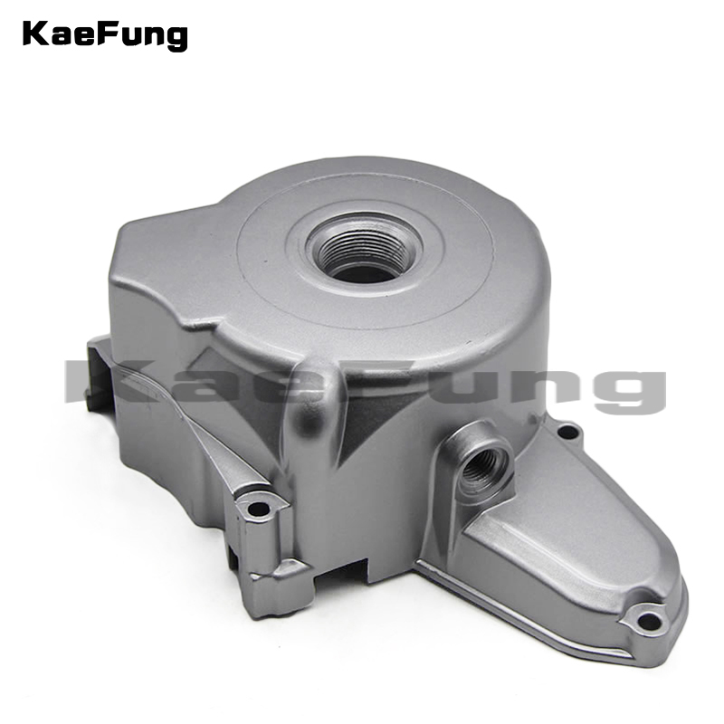 motorcycle parts 2 Poles Upper <font><b>Engine</b></font> Magnetor Side Cover 50CC <font><b>70CC</b></font> 110CC 125CC Taotao ZongShen <font><b>Lifan</b></font> Dirt Bikes Pit Bike image