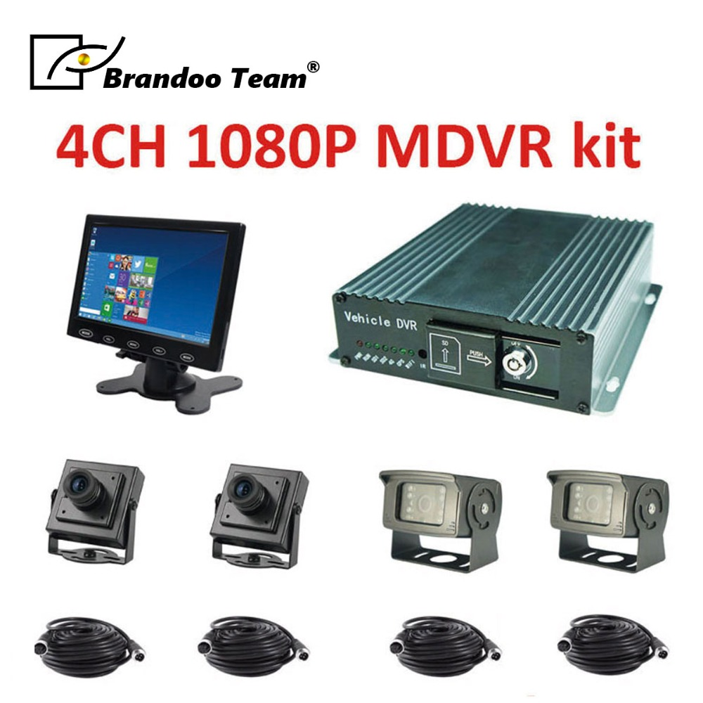 4ch AHD mdvr prend en charge le double stockage de carte sd