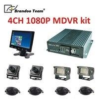 4ch AHD mdvr support dual sd card storage