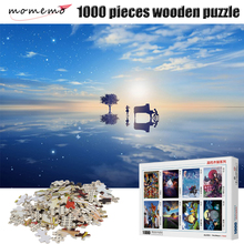 MOMEMO The Pianist At Sea Wooden Puzzle Adult Puzzle 1000 Pieces Toy Puzzles for Kids Educational Toys Puzzle Games Childen Gift стоимость