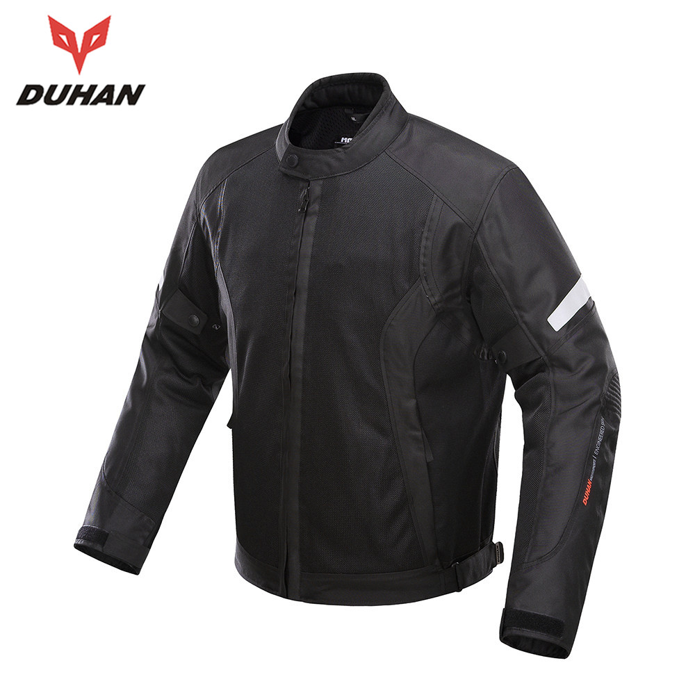 New DUHAN Summer Breathable Mesh Motorcycle Jacket Motocross Racing Jackets Motorcycle Body Protective Jacket for Men D-201B 2017motorcycle men s racing motocross jackets