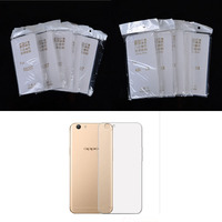 10 PCS Slim Cover Clear Soft TPU Case For OPPO R2017 R3007 R3 R7007 R5 R6007
