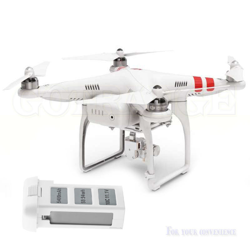 Hot 5400mAh li po battery dji phantom2 batterie For DJI Phantom 2 Vision Quadcopter font b
