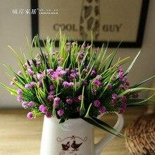 decoracin del hogar barato estrella de plstico planta de navidad decoracin del partido decoracin de la boda ramo de flores