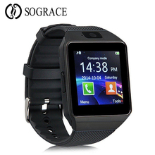 Sograce Relogio Smart Watches DZ09 Bluetooth Android Phone Call 2G GSM SIM TF Card Than DZ09 Smartwatch Men Watch PK GT08 A1 sograce smart watches smartwatch gps smart watch for children smart watch call reminder girl boy on wrist android watch phone