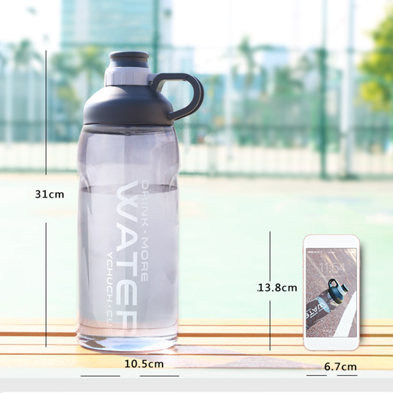 2000ml Large Capacity Water Bottles BPA Free Gym Fitness Drinking Bottle Outdoor Camping Cycling Hiking Sports 2000ml Large Capacity Water Bottles BPA Free Gym Fitness Drinking Bottle Outdoor Camping Cycling Hiking Sports Shaker Bottles