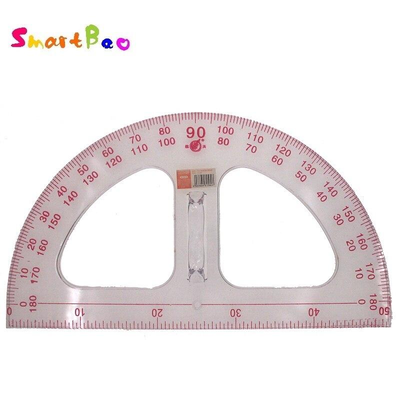 50cm Goniasmometer Extra Large Goniasmometer Transparent Goniasmometer Plastic Protractor Teaching Supplies