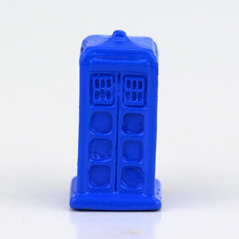 Dr Who 3D TARDIS Mysterious Single Houses Blue Brooch Mysterious Doctor Who Brooch Pins For Men & Women Movie Jewelry