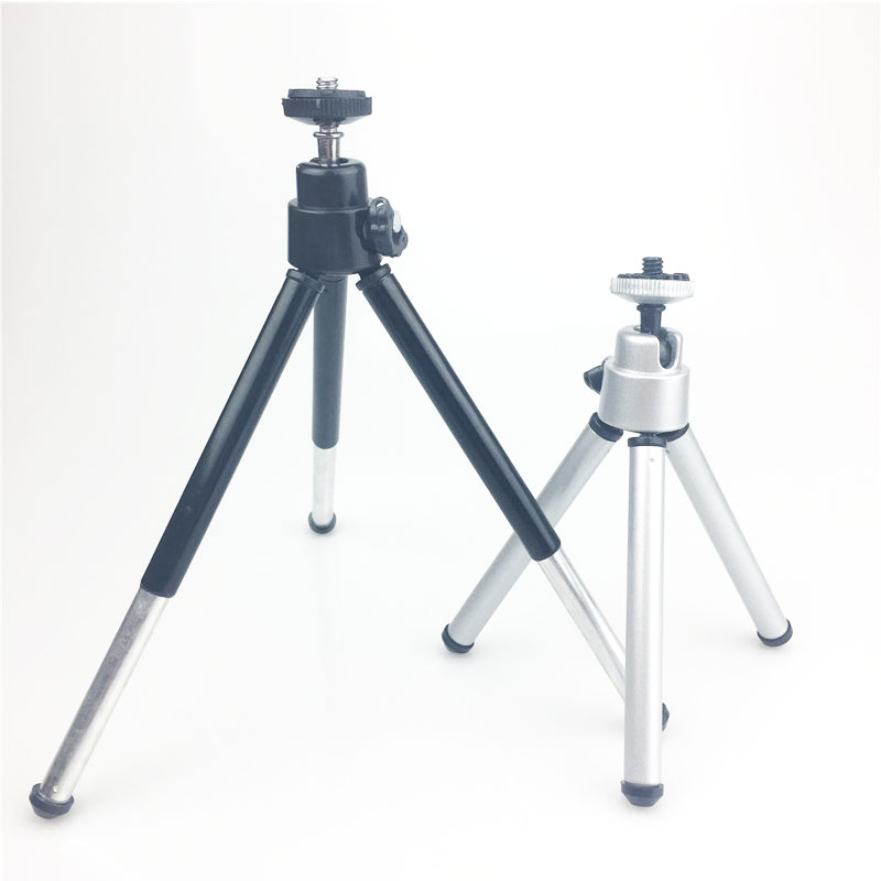 Flexible-Lightweight-Mini-Tripod-Aluminum-Metal-Tripods-Stand-Mount-for-Phone-with-Phone-Clip-Tripods-for