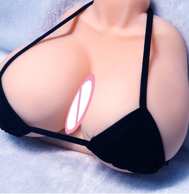 Silicone Sex Toys For Men E Cup Big Breast Sex Doll Male Masturbator Mammary Intercourse Pocket