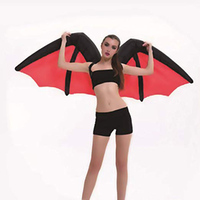 Inflatable Suit Wings Cospaly Fairy Costume Butterfly Rainbow Wing Adult Blowup Hallaween Props XHC88