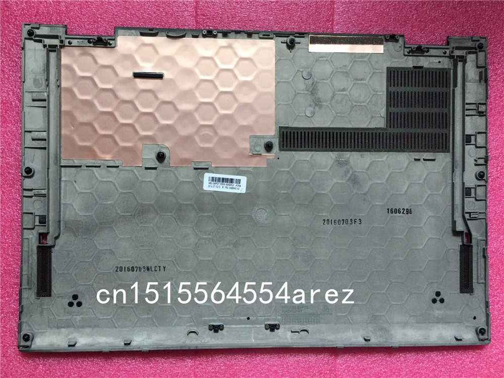 New Original laptop Lenovo ThinkPad X1 carbon 4th Base Cover case/The Bottom cover 460.04P07.0004 SCB0K40140 new original for lenovo thinkpad x240 x240i base cover bottom case 04x5184 0c64937