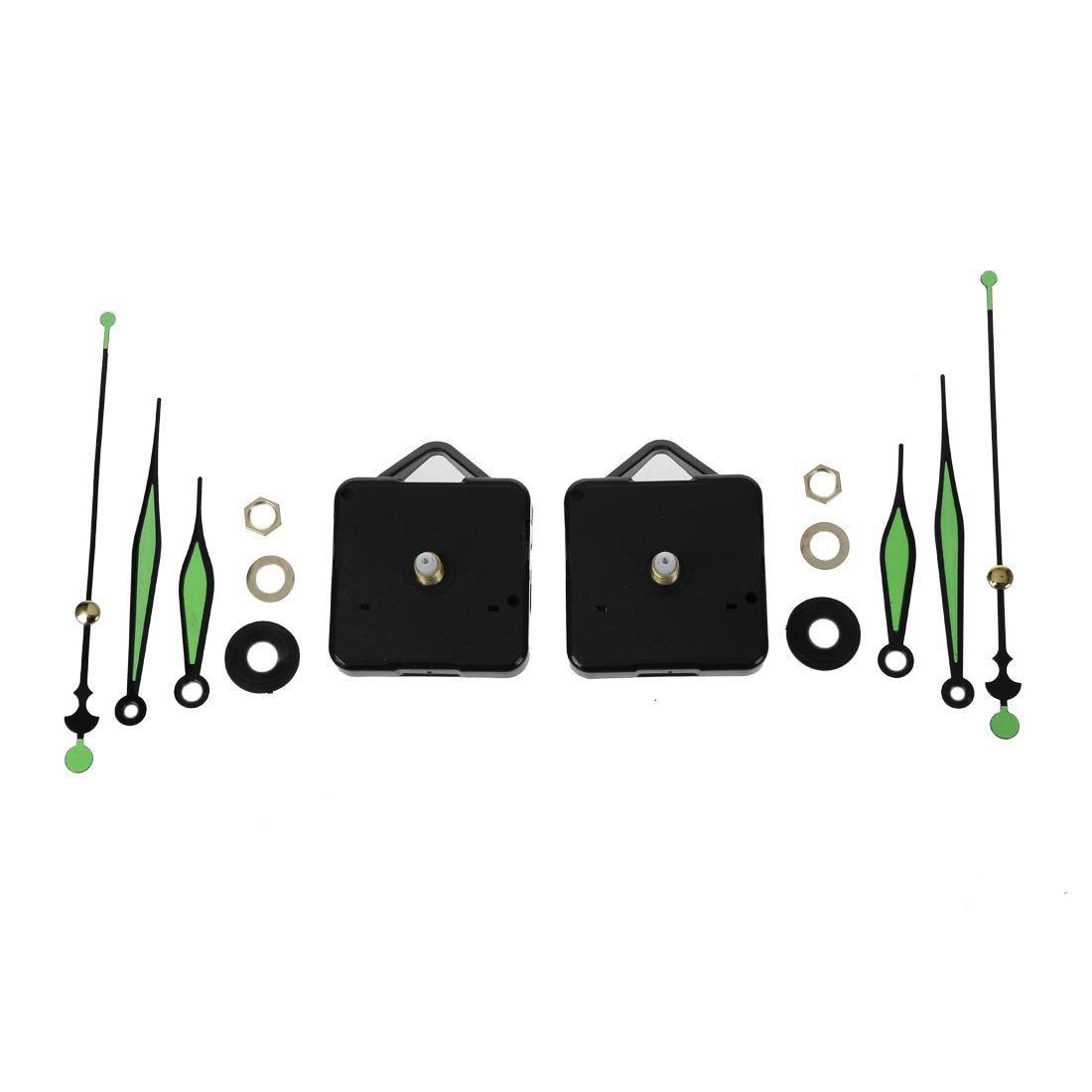 2 Stücke Leucht Hände Diy Quarz Uhr Spindel Bewegung Mechanismus Reparatur Tool Kit Duftendes (In) Aroma