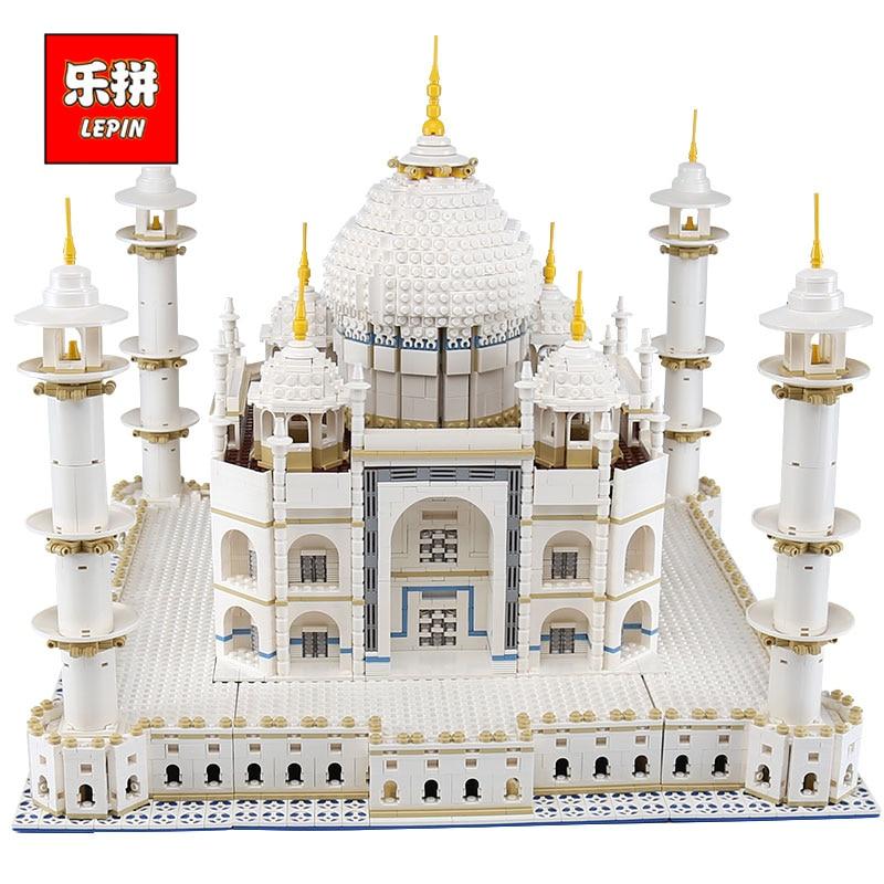 цена на LEPIN 17008 The taj mahal Model Educational Building Kits Blocks Bricks Compatible With legoing 10189 Toy as Children Gift 17001