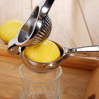 Aço inoxidável Espremedor de Frutas Cítricas Laranja Mão espremedor manual de Suco de Frutas Utensílios de Cozinha Espremedor de Limão Laranja queezer Pressionando