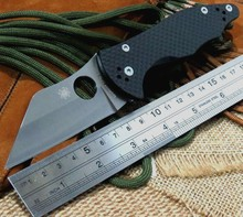 Carbon Fiber Handle Knife C85 mofel 9Cr Blade C85GP2 Folding Fixable knife camping hunting knives Outdoors EDC Tool