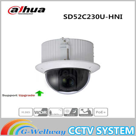Free Shipping DAHUA CCTV Security IP Camera 2MP 30x Starlight PTZ Network Camera Without Logo SD52C230U-HNI free shipping dahua 2mp 30x network ir