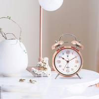 Color Changing Silent Bedside Alarm Clock Children Wake Up Light Talking Digital Clock Mechanism Sveglia Night Watch 40N0102
