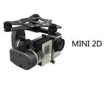 Feiyu Tech MINI 2D 2 axis brushless gimbal untuk DJI phantom helikopter drone quadcopter sayap tetap 1 2 Gratis pengiriman