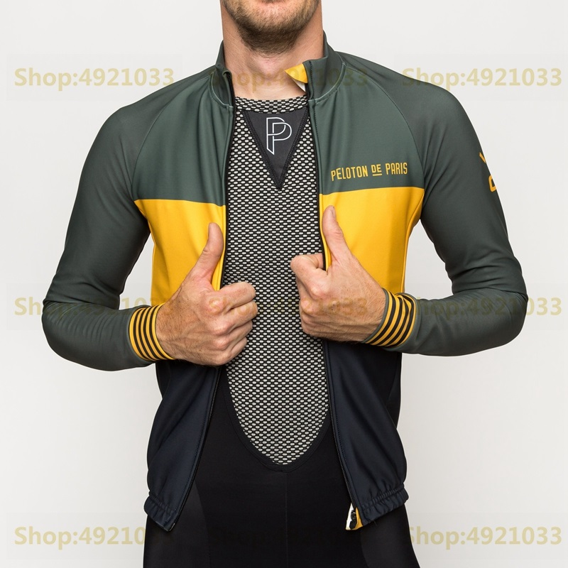 Spring New 2019 Fashion Brand Cycling Jersey Men Long Sleeved Bicycle Clothing Tops Tricolore Domestique RBX Outdoor Riding Wear