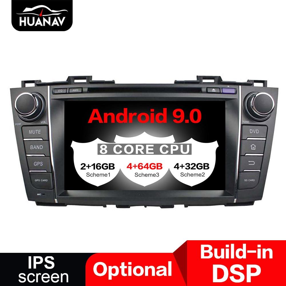 DSP Android 9,0 автомобиль gps навигации CD dvd-плеер головное устройство для Mazda 5 2009-2012 Автомобиль Радио стерео Мультимедиа проигрыватель с функцией ...