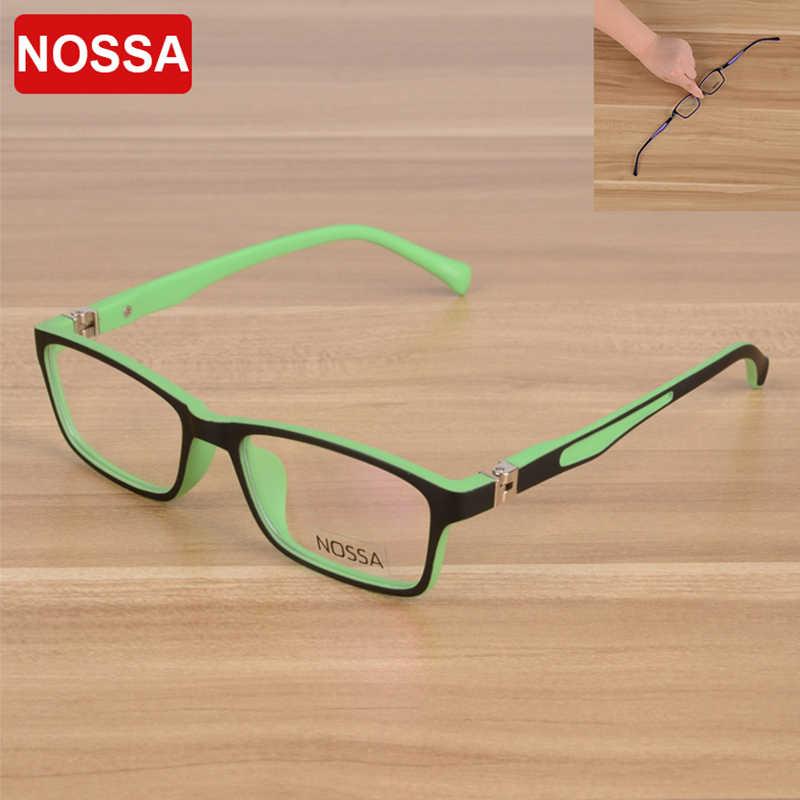 75f8d94ee6c NOSSA High Quality TR90 Children Optical Frame Eyewear Eyeglasses Girls  Boys Kids Myopia Glasses Frames Kids