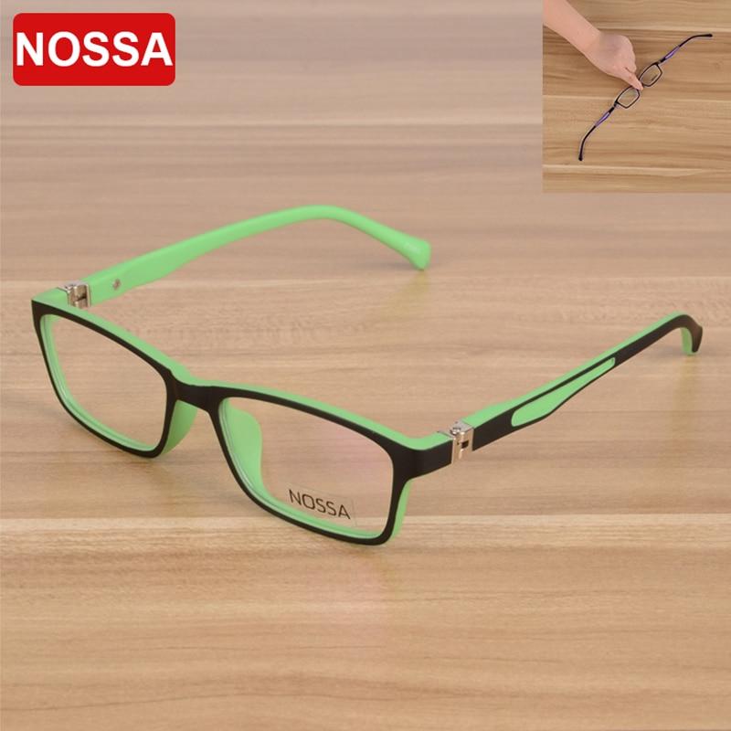 NOSSA aukštos kokybės TR90 vaikai optinių rėmelių akinių stiklai mergaičių berniukai vaikai Myopia akiniai rėmeliai vaikams akinių rėmeliai