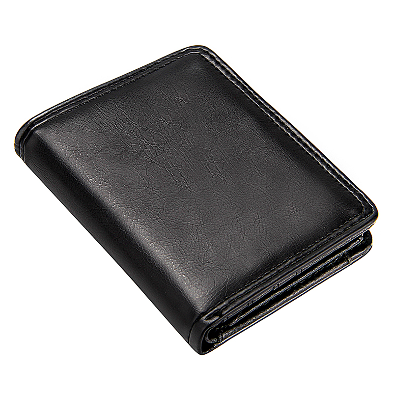 Short Wallet Cash-Clutch-Bag Coin-Purse Slim-Card-Holders Bifold Business Male Mini Men's