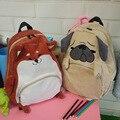 Симпатичные Pattern Животных Собака Кошка Рюкзак Женщины Опрятный Стиль Школы рюкзаки Женская Сумка Путешествия Рюкзак Мешок Dos