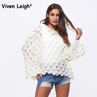 Knitting Mohair Sweater Female Loose Femme 2018 Autumn Winter Korean Women Sweater Pullovers Feather Pattern Bell Sleeve Jumpers
