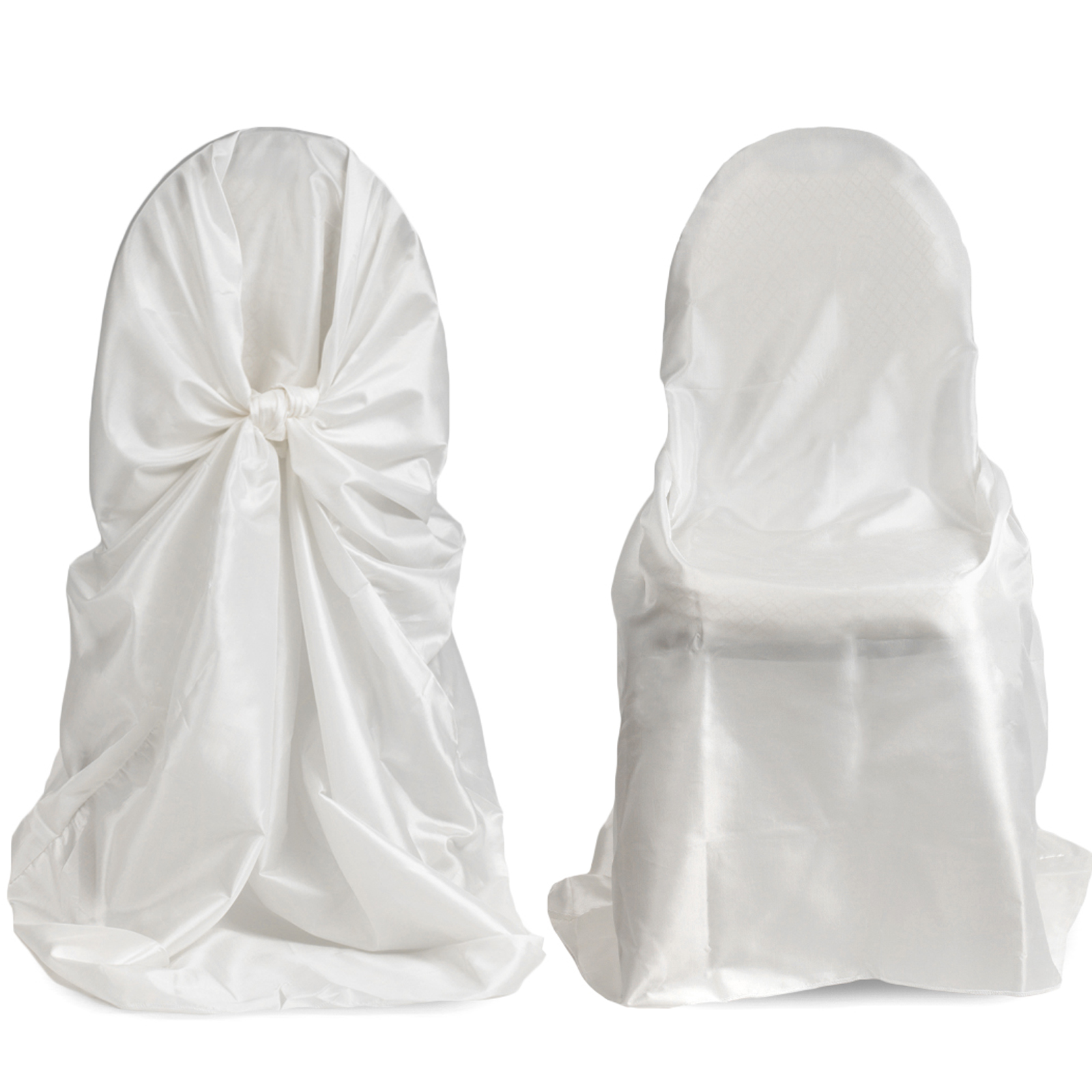 Popular White Chair Covers for Weddings Bows Buy Cheap White Chair