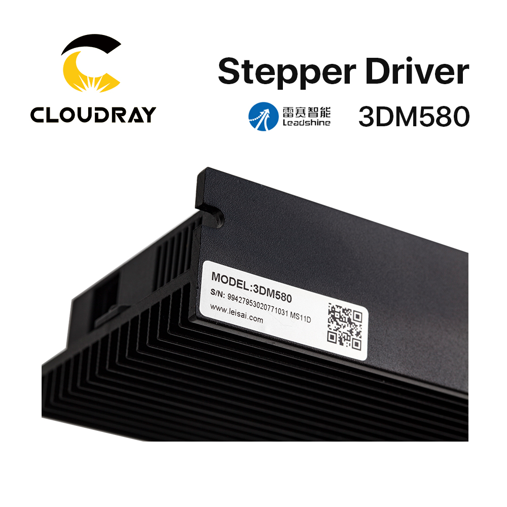 Cloudray Leadshine 3 Phase 3DM580 Stepper Motor Driver 18-50VDC 1.0-8.0A