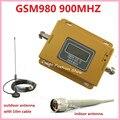 ЖК-Дисплей! GSM 900 МГЦ GSM 980 Беспроводной Мобильный Телефон Сигнал Повторителя Booster, сотовый Телефон Усилитель Сигнала комплект с антенной