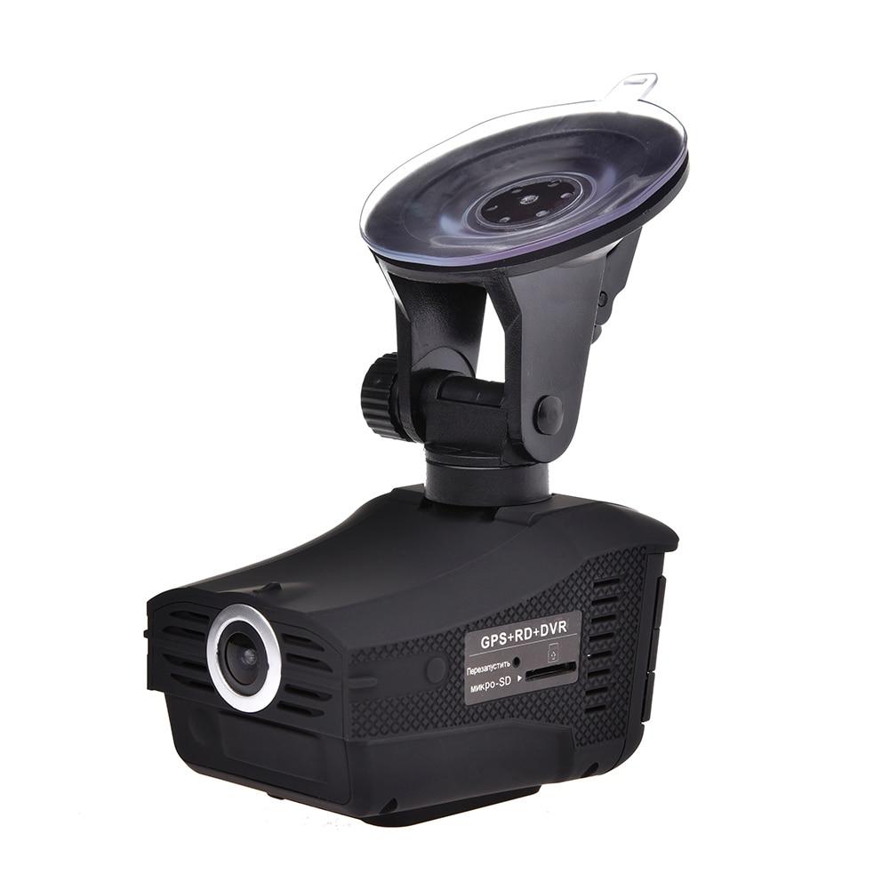 3 in 1 Auto Radar Detectoren DVR Recorder Russische Gewijd Voice Broadcast GPS Camera Dash Cam Vaste/ stroomsnelheid Meting - 5