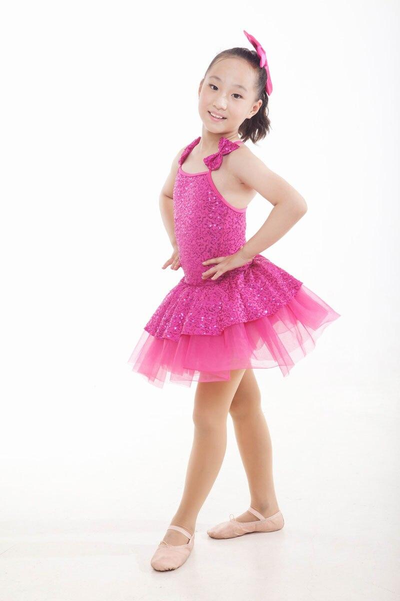 الجمباز يوتار الطفل الرقص اللباس قصيرة الأكمام يوتار الإناث حزام الباليه رياضة دعوى الرضع فساتين dancewear اللاتينية للبنات
