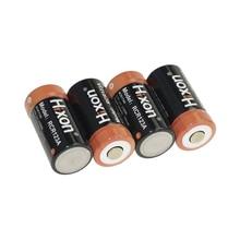 Hixon 4pcs UL Certified 700mAh 3.7V RCR123A for Netgear Arlo Cameras Lithium-ion Rechargeable Batteries for Netgear Arlo Cameras