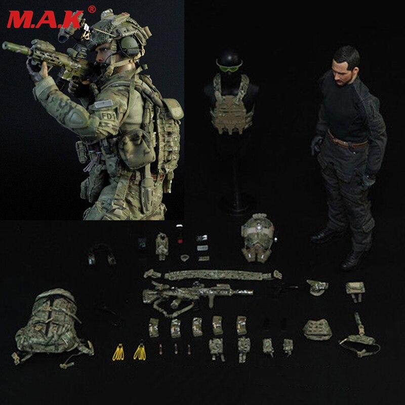 1/6 échelle ensemble complet homme soldat mâle modèle NSWDG DEVGRU l'équipe de sceau force six figurine jouet pour collection