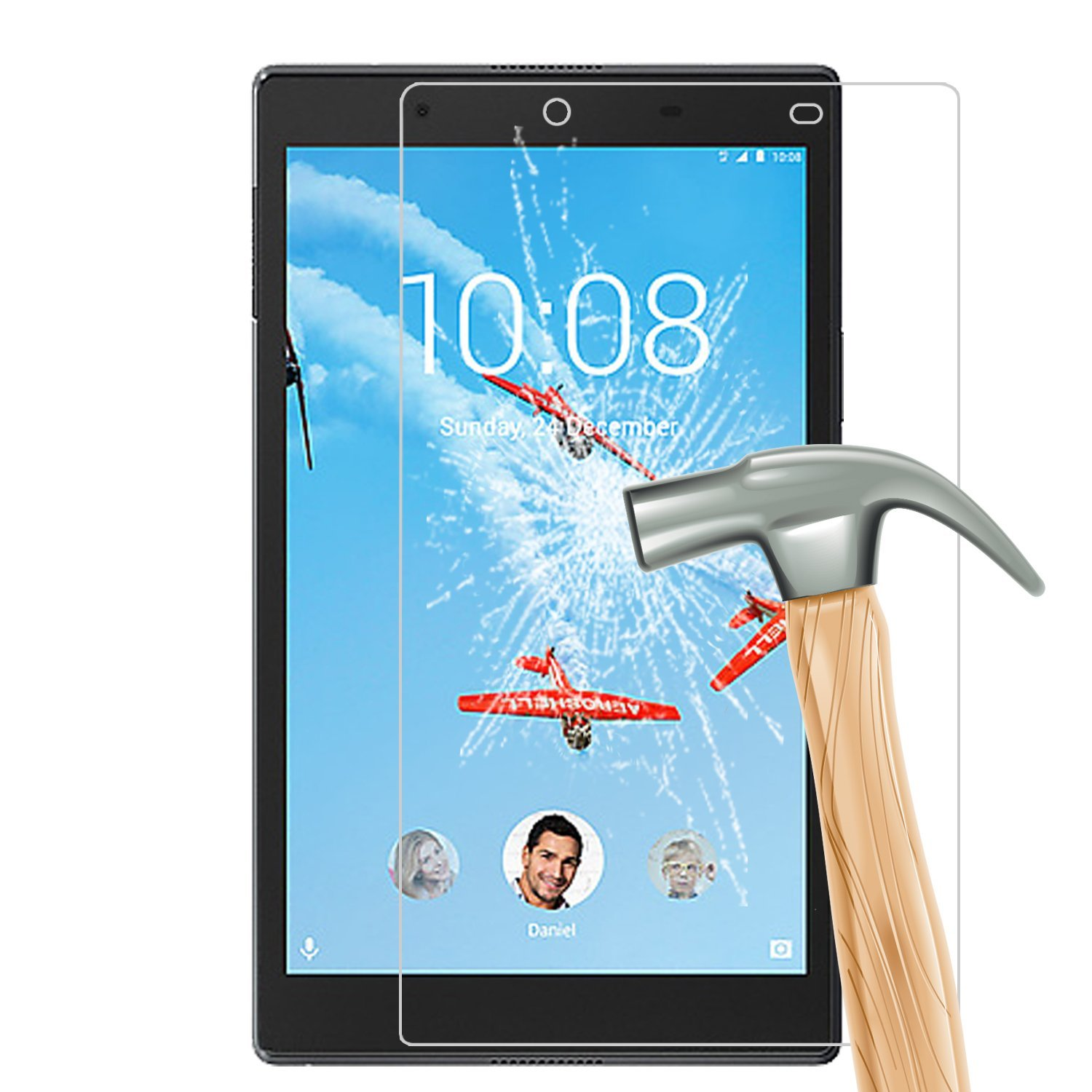 Tempered Glass For Lenovo Tab 4 8 10 Plus Screen Protector For Lenovo Tab 4 10 8 Plus 8