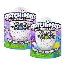 2018 new Original  Hatchimals Glittering Garden Interactive Hatching Egg Shimmering Draggle – kids toy gift